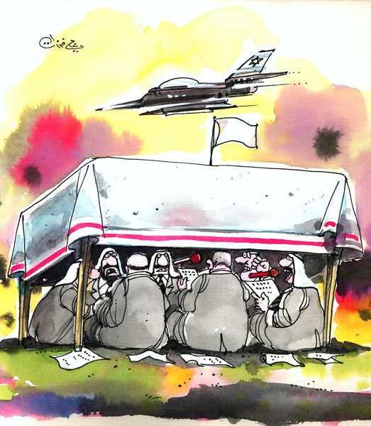 ali ferzat - علي فرزات-  كاريكاتير - ديننجي - 318