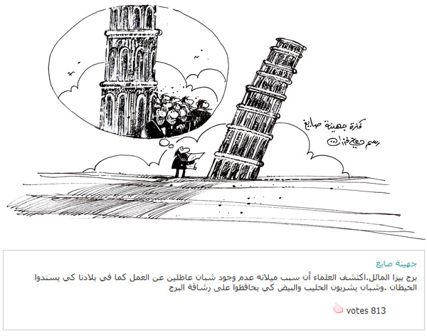 ali ferzat - علي فرزات-  كاريكاتير - كاريكاتير بافكاركم - 341