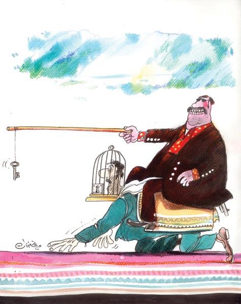 ali ferzat - علي فرزات-  كاريكاتير - كاريكاتير اليوم - 353