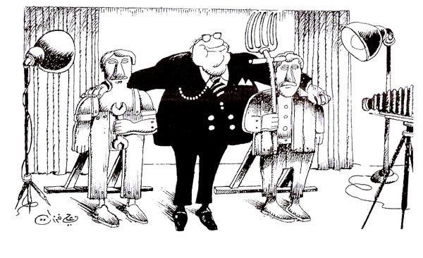 ali ferzat - علي فرزات-  كاريكاتير - كاريكاتير اليوم - 364
