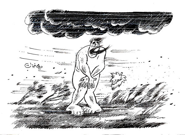 ali ferzat - علي فرزات-  كاريكاتير - مسخرة - 377
