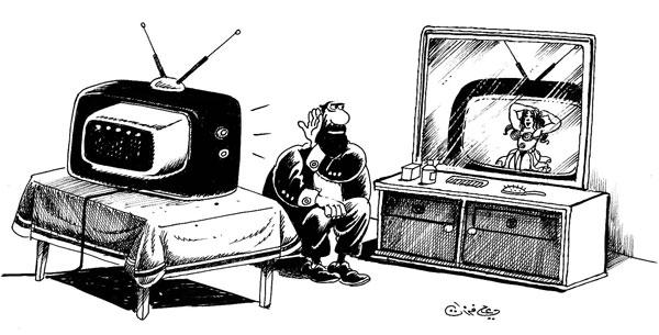 ali ferzat - علي فرزات-  كاريكاتير - مسخرة - 389