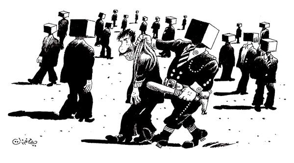 ali ferzat - علي فرزات-  كاريكاتير - فقراء - 392
