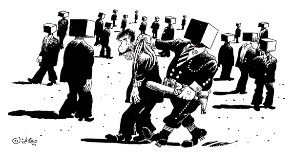 ali ferzat - علي فرزات-  كاريكاتير - مسخرة - 392
