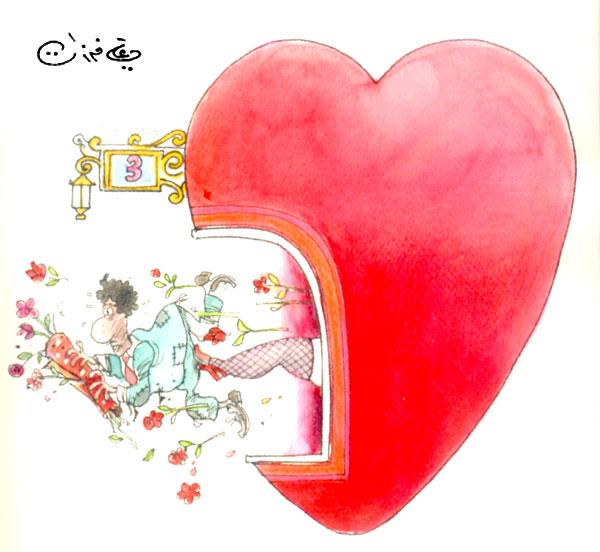 ali ferzat - علي فرزات-  كاريكاتير - جنس - 396