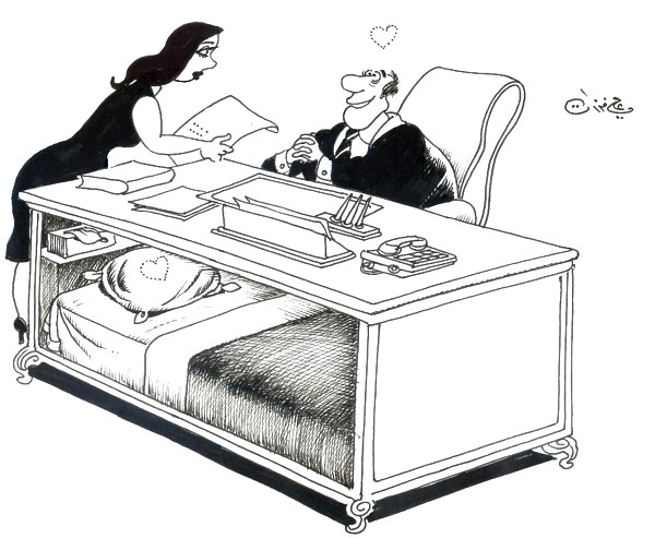 ali ferzat - علي فرزات-  كاريكاتير - جنس - 410