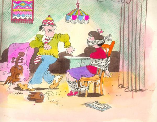 ali ferzat - علي فرزات-  كاريكاتير - فن - 417