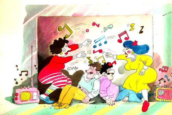 ali ferzat - علي فرزات-  كاريكاتير - فن - 419