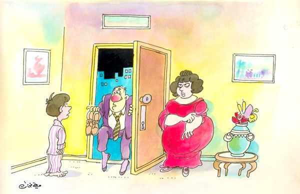 ali ferzat - علي فرزات-  كاريكاتير - 422