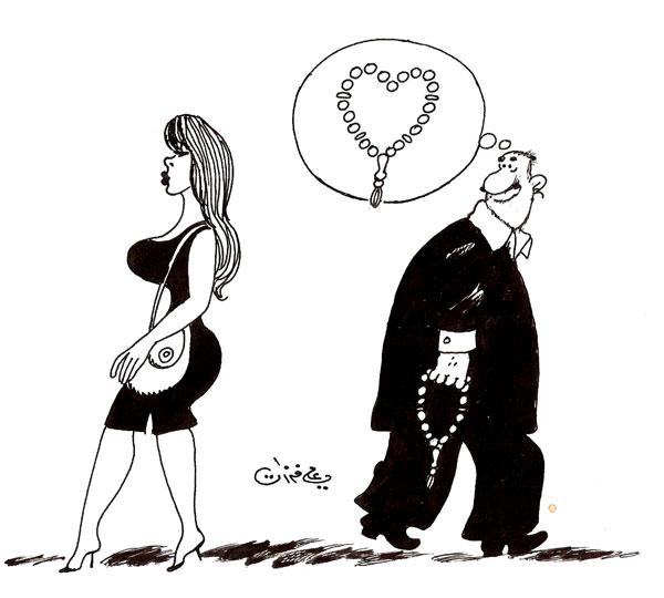 ali ferzat - علي فرزات-  كاريكاتير - جنس - 430