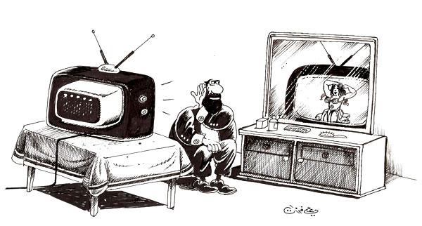 ali ferzat - علي فرزات-  كاريكاتير - جنس - 431