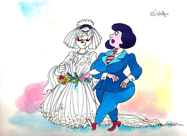 ali ferzat - علي فرزات-  كاريكاتير - جنس - 433