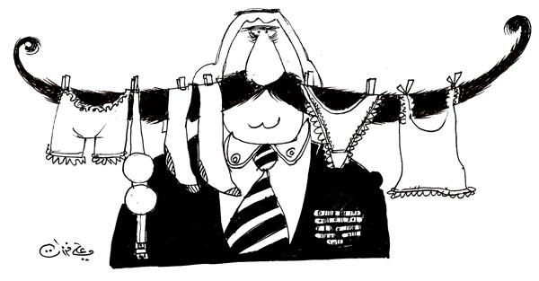 ali ferzat - علي فرزات-  كاريكاتير - جنس - 438