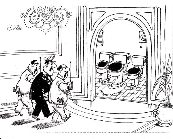 ali ferzat - علي فرزات-  كاريكاتير - مافيات - 442