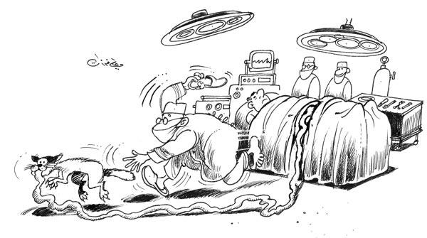 ali ferzat - علي فرزات-  كاريكاتير - 444