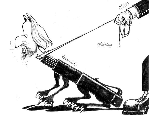 ali ferzat - علي فرزات-  كاريكاتير - سلطة ومواطن - 451