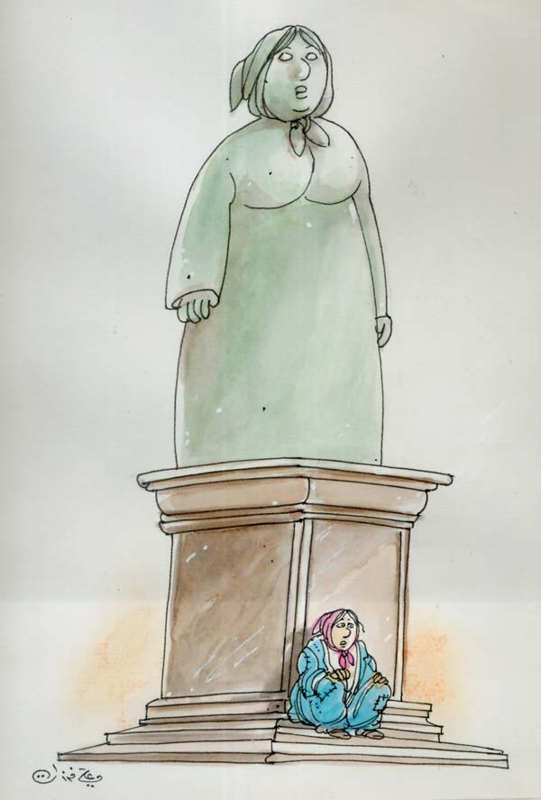 ali ferzat - علي فرزات-  كاريكاتير - 454