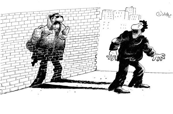 ali ferzat - علي فرزات-  كاريكاتير - سلطة - 477