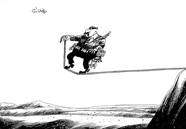 ali ferzat - علي فرزات-  كاريكاتير - احزاب سلطة - 512