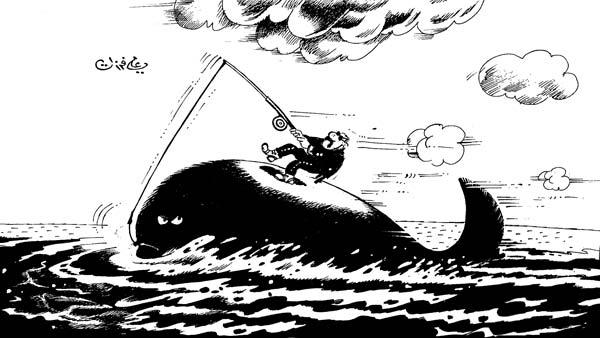 ali ferzat - علي فرزات-  كاريكاتير - مخابرات - 516
