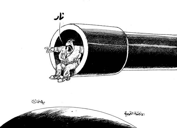 ali ferzat - علي فرزات-  كاريكاتير - رؤساء - 553