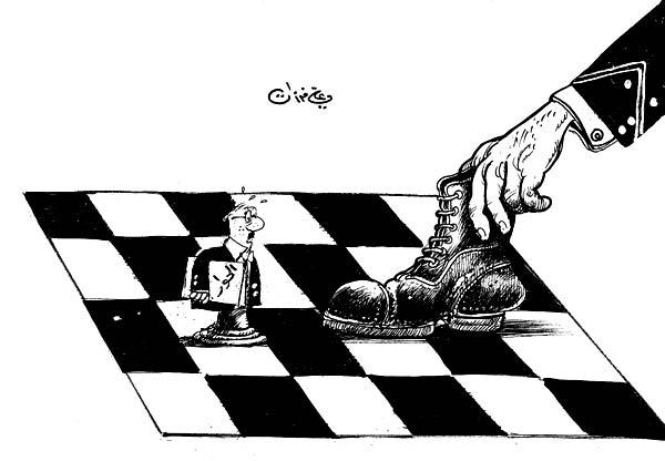 ali ferzat - علي فرزات-  كاريكاتير - رؤساء - 554