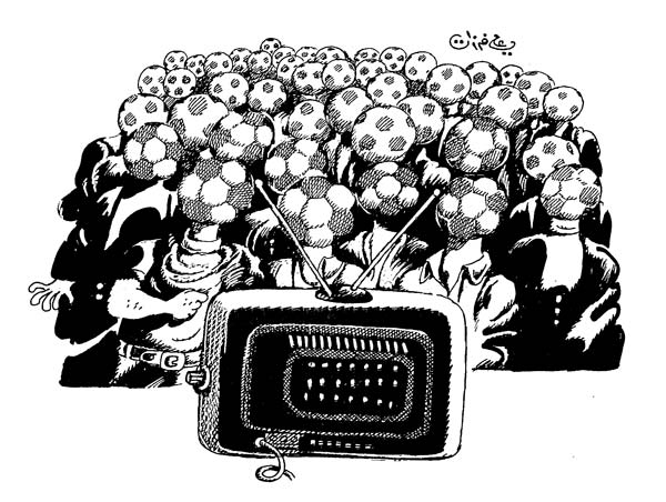 ali ferzat - علي فرزات-  كاريكاتير - رياضة - 560