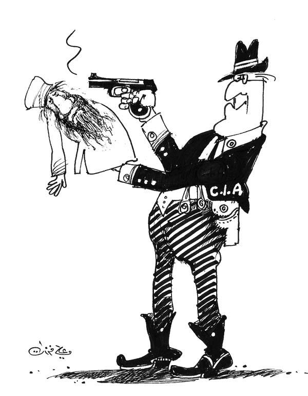 ali ferzat - علي فرزات-  كاريكاتير - ديننجي - 564