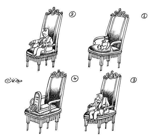 ali ferzat - علي فرزات-  كاريكاتير - سلطة - 566