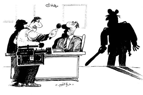 ali ferzat - علي فرزات-  كاريكاتير - مخابرات - 569