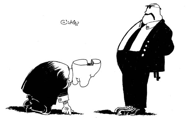 ali ferzat - علي فرزات-  كاريكاتير - رؤساء - 574