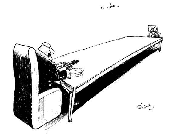 ali ferzat - علي فرزات-  كاريكاتير - رؤساء - 582