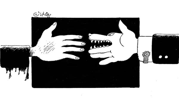ali ferzat - علي فرزات-  كاريكاتير - كاريكاتير اليوم - 589
