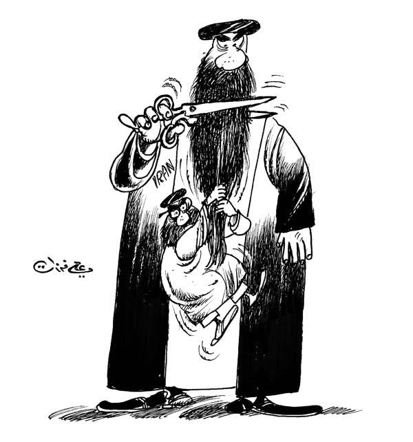 ali ferzat - علي فرزات-  كاريكاتير - احزاب سلطة - 596