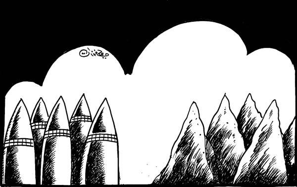 ali ferzat - علي فرزات-  كاريكاتير - بيئة - 600