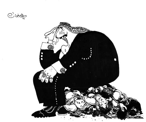 ali ferzat - علي فرزات-  كاريكاتير - فلسطين - 601