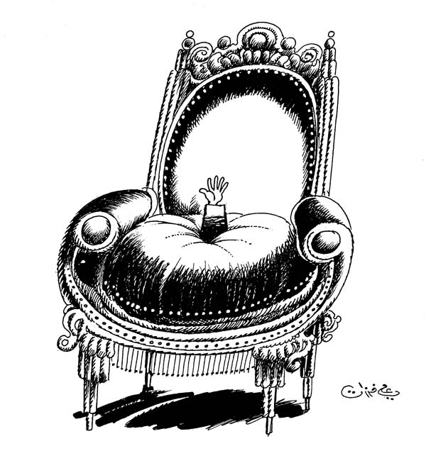ali ferzat - علي فرزات-  كاريكاتير - رؤساء - 606