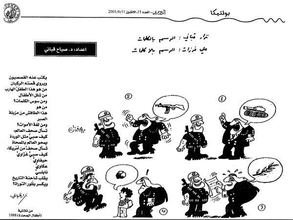 ali ferzat - علي فرزات-  كاريكاتير - الرسم بالكلمات - 610