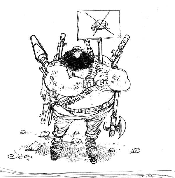 ali ferzat - علي فرزات-  كاريكاتير - مافيات - 628