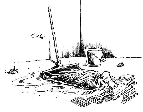 ali ferzat - علي فرزات-  كاريكاتير - سلطة - 630