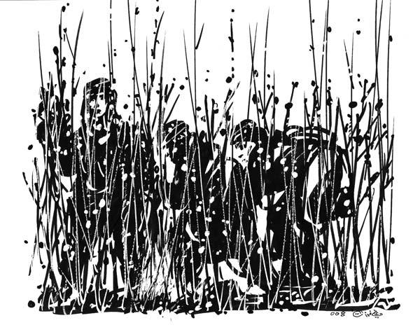 ali ferzat - علي فرزات-  كاريكاتير - أعمال فنية - 637