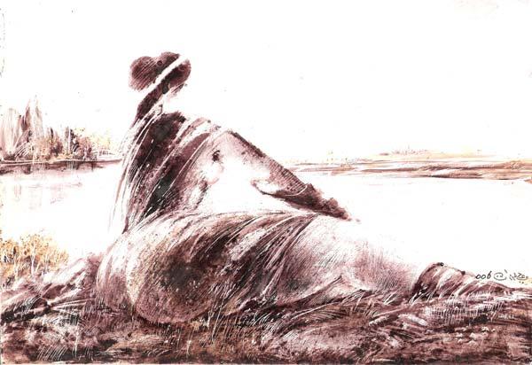 ali ferzat - علي فرزات-  كاريكاتير - أعمال فنية - 642