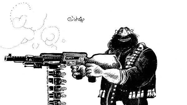 ali ferzat - علي فرزات-  كاريكاتير - مافيات - 645