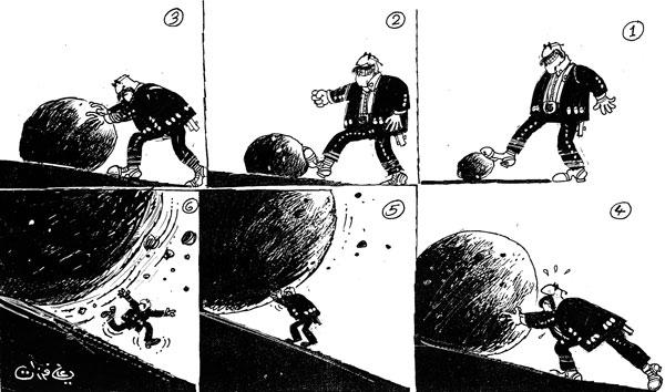 ali ferzat - علي فرزات-  كاريكاتير - رؤساء - 647