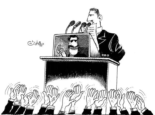 ali ferzat - علي فرزات-  كاريكاتير - رؤساء - 656