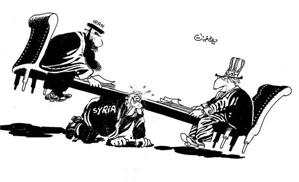 ali ferzat - علي فرزات-  كاريكاتير - دكتاتورية - 698