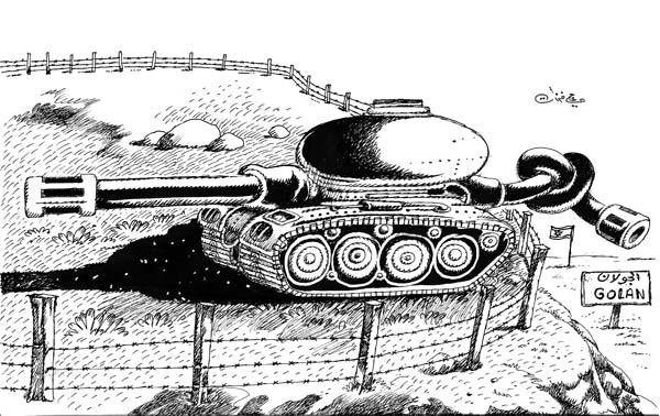 ali ferzat - علي فرزات-  كاريكاتير - عسكرتاريا - 699