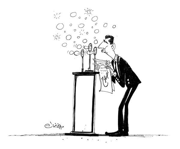 ali ferzat - علي فرزات-  كاريكاتير - خطابات - 704