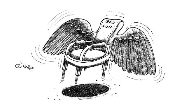 ali ferzat - علي فرزات-  كاريكاتير - سلطة - 713