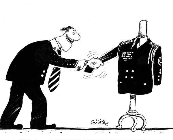 ali ferzat - علي فرزات-  كاريكاتير - حزبي - 723